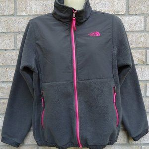 SIZE L /14-16.The North Face Girls Fleece Jacket.